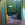 Cortina de cristal de seguridad, perfil aluminio color madera