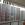Cortina de cristal de seguridad, perfil aluminio color blanco
