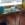 Mesa de cristal, resina color y acero